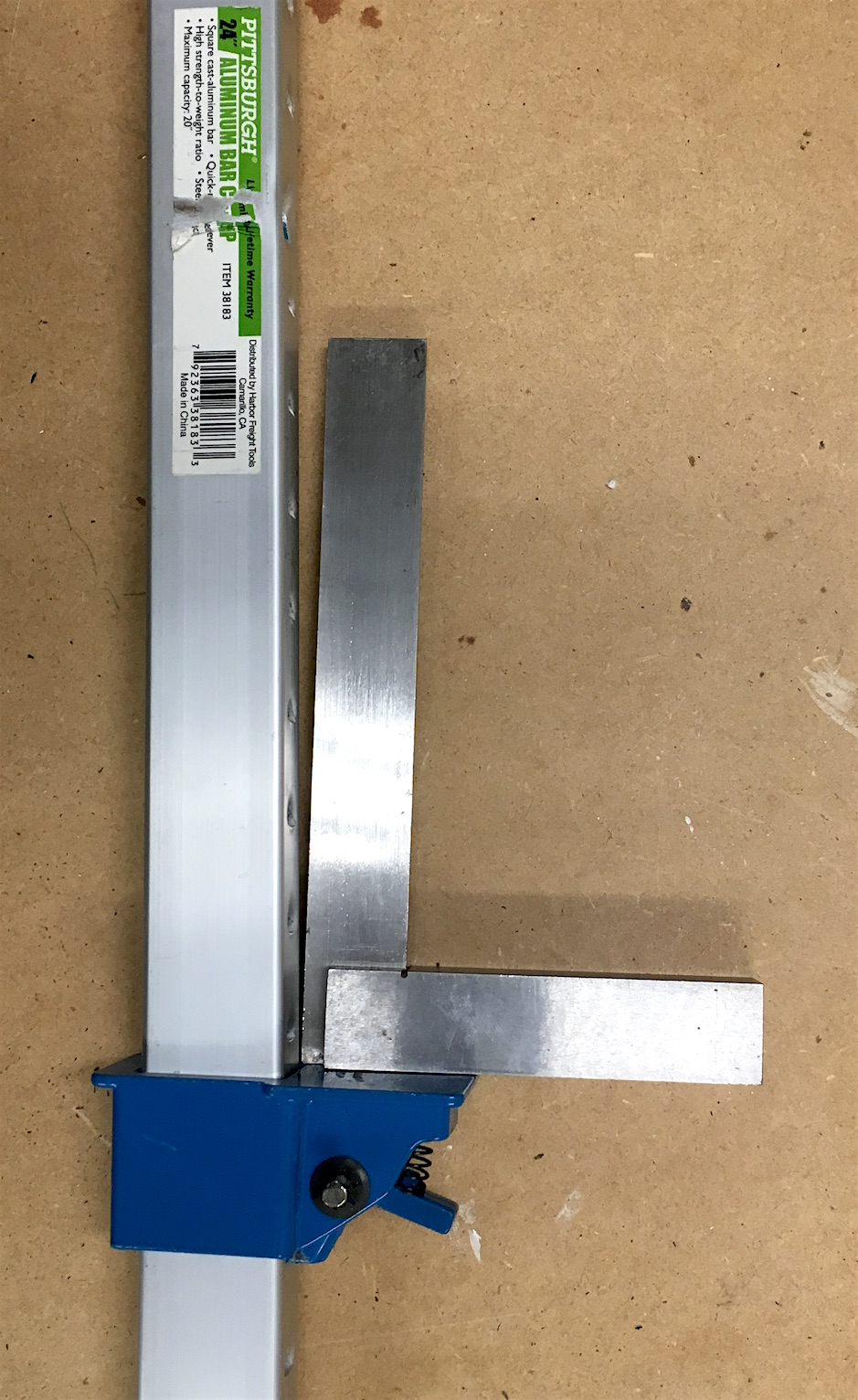 Harbor Freight Bar Clamp 60539 Review