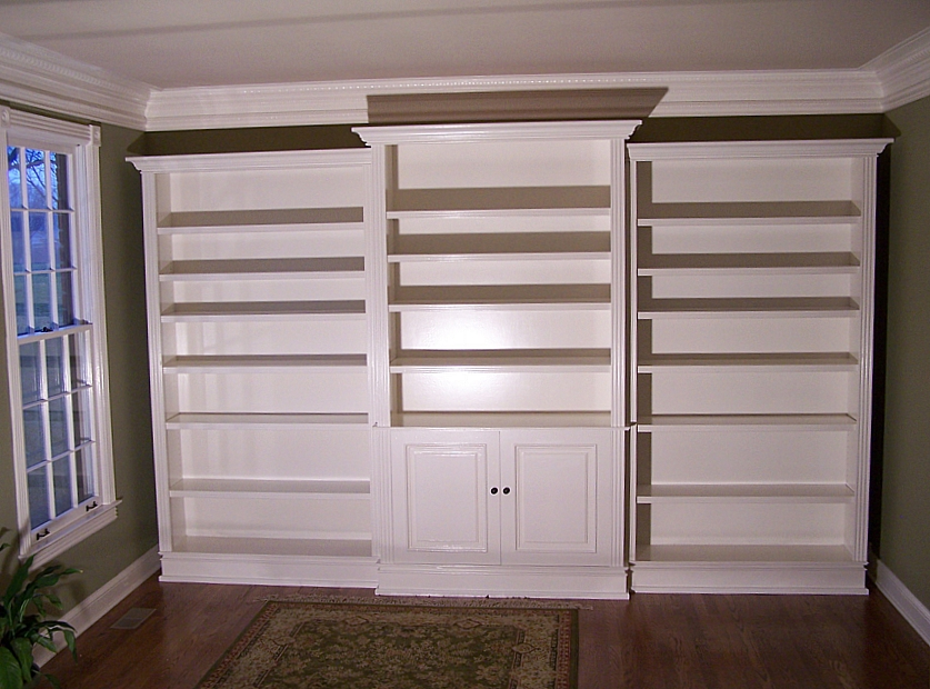 Floor To Ceiling Wall Bookcase Advice